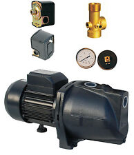 """IBO 1""""JSW150 Water Booster Pump 1.5kW+vessel expansion kit gauge pressure switch"""