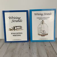 Writing Strands Level 3 and Evaluating Writing Lot Of 2