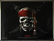 Cinema Poster: PIRATES OF THE CARIBBEAN 4 2011 (Advance Quad) Johnny Depp