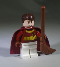 Lego Oliver Wood Minifig in Quidditch Match Uniform from Harry Potter's Hogwarts