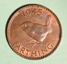 1945 Great Britain Farthing - Inv# P428