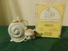 Precious Moments ~Slow Down For The Holidays~Ornament 272760 Snail