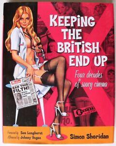 Book - Keeping The British End Up - Simon Sheridan - Hardback Book 2007 Reprint