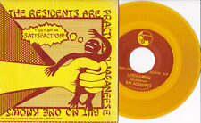 """The Residents -Satisfaction / Loser ≅ Weed- 7"""" 45 Yellow Vinyl near mint"""
