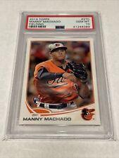 2013 Topps Manny Machado Fielding Rookie Baseball Card #270 PSA 10 Gem Mint