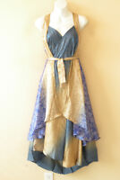 "L994 Vintage Silk Magic 34"" Long Wrap Skirt Halter Tube Maxi Dress + Bonus DVD"