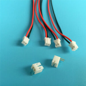 20 SETS JST PH 2.0 2 Pin Right-Angle Socket Male and Connector Female  w./ wire