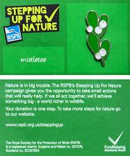 RSPB Pin Badge   Mistletoe   SUFN [00372]
