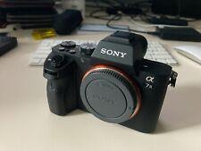 Sony Alpha A7 II 24.3MP Digital Camera - Black (Body Only) plus 3 batteries