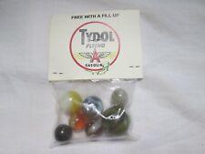 Vintage NOS TYDOL Flying A Gasoline Bag of Marbles Unopened