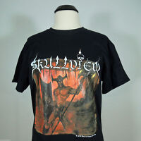 SKULLVIEW Emitting Hate From Our. Official T-Shirt size M (R.I.P. Records) (NEW)