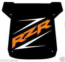 ***Large Polaris RZR Sticker / Decal  -Orange and White***