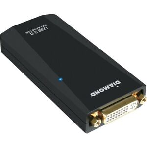 DIAMOND USB 2.0 to VGA / DVI / HDMI Video Graphics Adapter - 1 x Female USB - 1