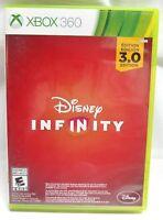 * Microsoft Xbox 360 Disney Infinity 3.0 Game Disc, Art Work, and Case   👾
