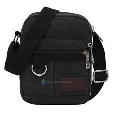 Men's Vintage Canvas Schoolbag Satchel Shoulder Messenger Bag Crossbody Bags
