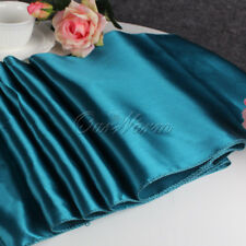 """12""""x108"""" Wedding Party Satin Table Runner Tablecloth Banquet Dinner Party Decor"""