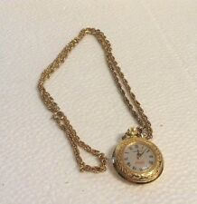 Vintage Caravelle by Bulova Coca Cola Ladies Pocket/Necklace Watch-Hand Winding