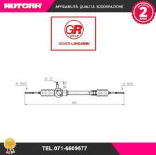 FI4051 Scatola guida meccanica Fiat 127 TT 73> (MARCA-GENERAL RICAMBI)