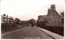 Longridge. Lower Lane by J. Parker, Publisher, Longridge.