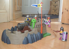 Playmobil 100% Complete Set 4133 Knights Super Set with Firing Cannon