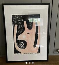 """MARGOT IN MARGATE MARGO MCDAID """"Pink Dog"""" Art Print"""