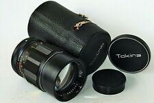 Teleobjektiv TOKINA 135mm 1:2,8 KONICA AR Anschluss für Sony/MFT, Fuji X,M 4/3