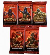 5x Hour of Devastation BOOSTER PACK INGLESE-MTG MAGIC THE GATHERING TCG
