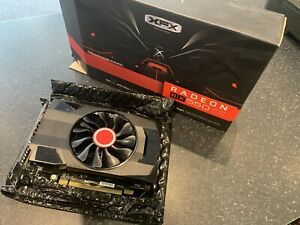 XFX ATI AMD Radeon RX550 4Gb GDDR5 Graphics Card PCIe 3   Boxed 2 Months Old