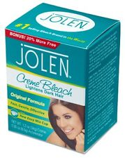 JOLEN CREME BLEACH LIGHTENS EXCESS DARK HAIR FACIAL CREAM 35 grams