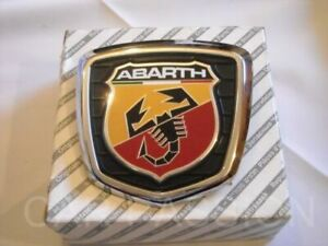 Genuine Fiat 500 Abarth Tailgate / Boot Badge Emblem 735496473