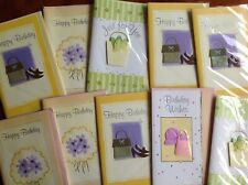 Pack Of Ten Handmade Greetings Cards - Brand New Sealed