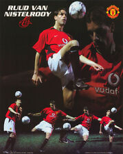 SMALL POSTER:SOCCER: RUUD VAN NISTELROOY -MANCHESTER UNITED    #MP0297  RC33W-L