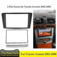Double Din Facia for Toyota Avensis 2002-2008 Car Radio DVD Stereo CD Panel Dash