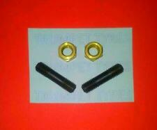 Lambretta TV 175 SERIES 2 7MM M7 Exhaust Studs And Brass Nuts Set LE 13011/2