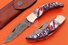 Custom Hand Made Pocket Folding Knife
