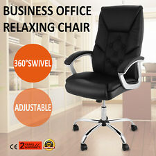 Leather Swivel Racing Gaming Office Chair Adjustable  Modern Office Furniture