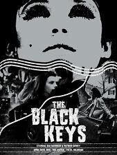 The Black Keys 4/28/ 2012 Poster Tulsa Oklahoma #/200 Rare!