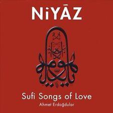 Niyaz, Sufi Songs of Love; Ahmet Erdogdular 2009 CD, Turkish, Mevlevi, Ney Flute