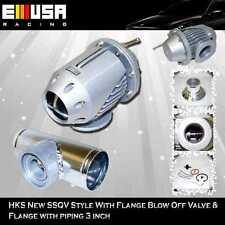 """SSQV Style blow off valve bov + Piping 3"""" 350z G35 300zx 240sx 180sx 370z RB"""