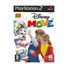 DISNEY MOVE PS2 NUOVO