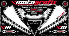 Kawasaki Ninja ZX6R 2003 04 05 Front Fairing Number Board 3D Gel Protector
