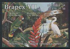 Aves-Brasil 1988 Brapex m/s Mnh sg.ms 2340 (Ref.b 11)
