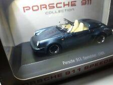 Porsche 911 Speedster 1989 schiefer metallic / Spark/Atlas 1:43 (083)