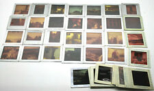 "Pre 1960s Architecture Design Travel Tin Framed 2"" Color Slides Winni Thrupp NY"