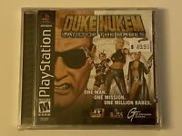 🔥 DUKE NUKEM LAND OF THE BABES 🔥 PS1 PlayStation 1 PSX GAME 💯 COMPLETE MINT