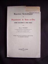 Répertoire archéologique du département de Seine-et-Oise
