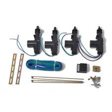 Car Central Lock 4 Door Keyless Entry 2 Remote Auto Control Locking System Kit