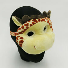 Giraffe Animal Farm Jungle Safari Plush Eye Mask Costume Fancy Dress Party New
