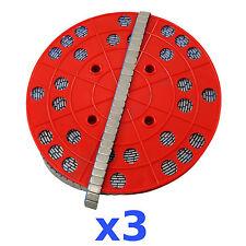 3x 6KG 18KG ROLLE Auswuchtgewichte Klebegewichte 1200x5g 5g Riegel Wuchtgewichte