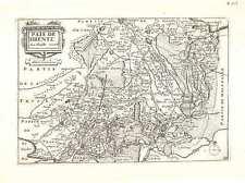 Antique map, Pais de Drente